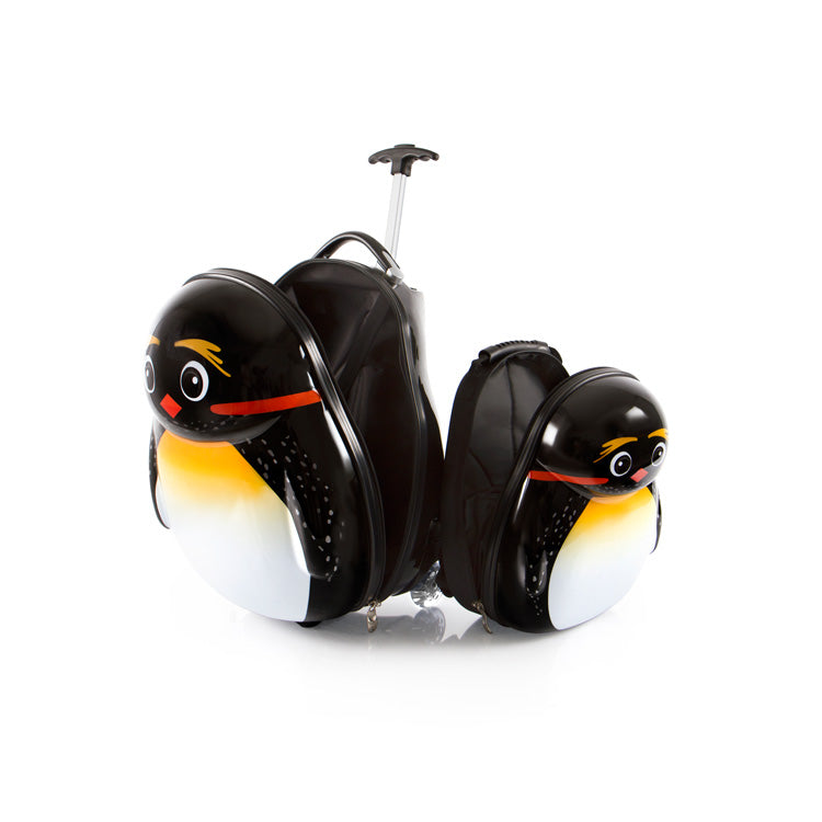 Travel Tots Emperor Penguin - Kids Luggage & Backpack Set