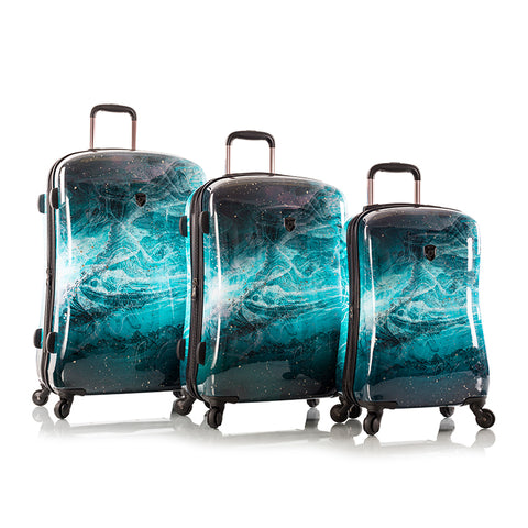 Turquoise Stone Fashion Spinner 3pc. Set