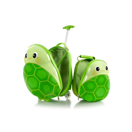 Travel Tots Turtle - Kids Luggage & Backpack Set