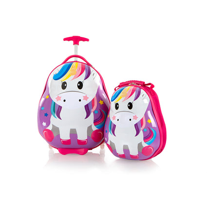 Travel Tots Unicorn - Kids Luggage & Backpack Set