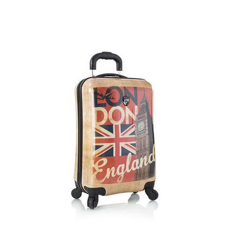 "Vintage Traveler 21"" Spinner - London"