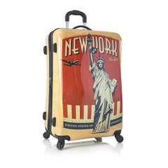 "Vintage Traveler 30"" Spinner - New York"