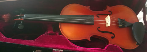 Used 3/4 German Sandner violin Sandner Dynasty SV2