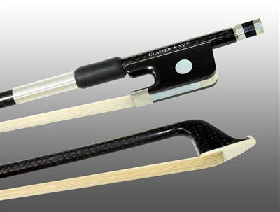 Glasser braided carbonfibre 4015BCFX cello bow