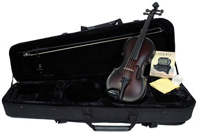 Glasser Carbon Composite violin outfit, acoustic.  Vegan friendly!