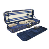 Rectangular styrofoam violin case 4/4 only