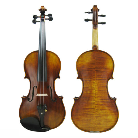 Antiqued Chinese Violin made with European tonewoods 4/4 only