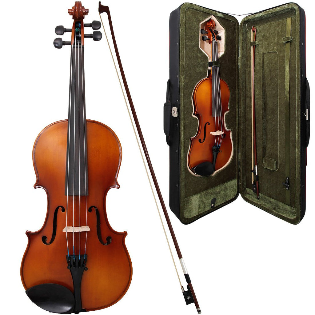 Used 1/2 size Allieri 212 violin outfit 1/2 size.  New bow.