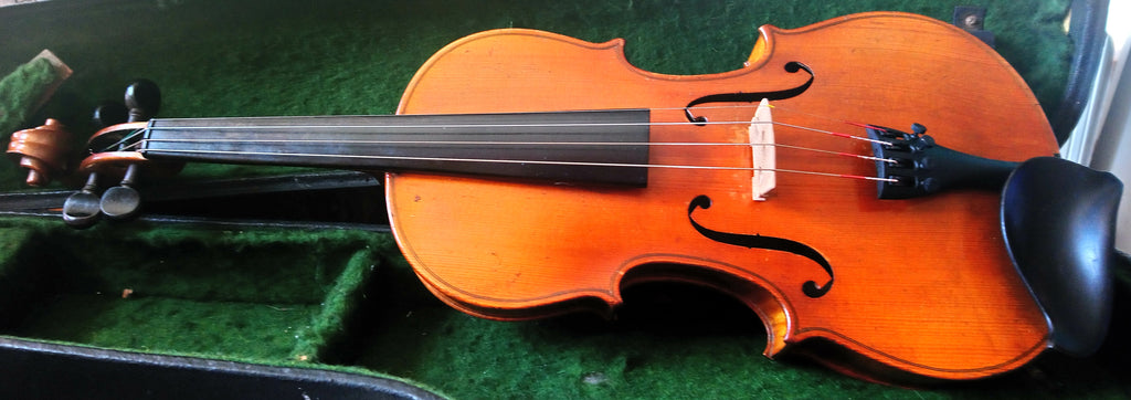 Antique violin, well flamed, presumably German 4/4