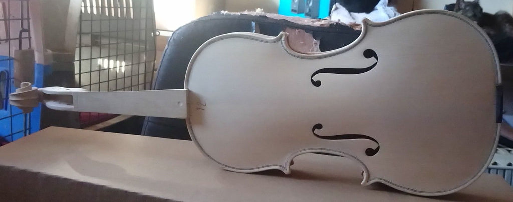 Romanian violins in the white