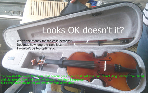 What is that £25 new ebay violin really like?