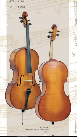Left handed cellos