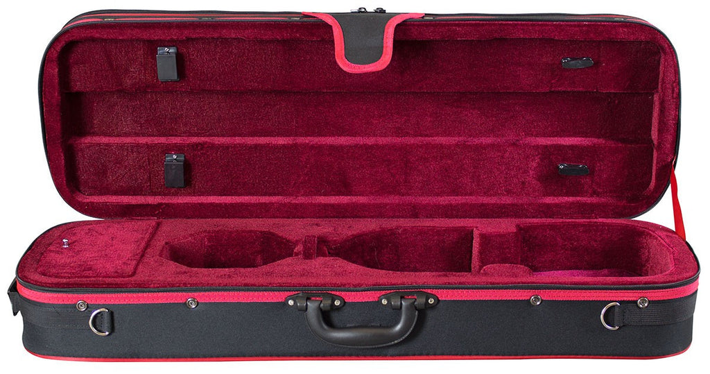 Hidersine VC40 violin case 4/4 only