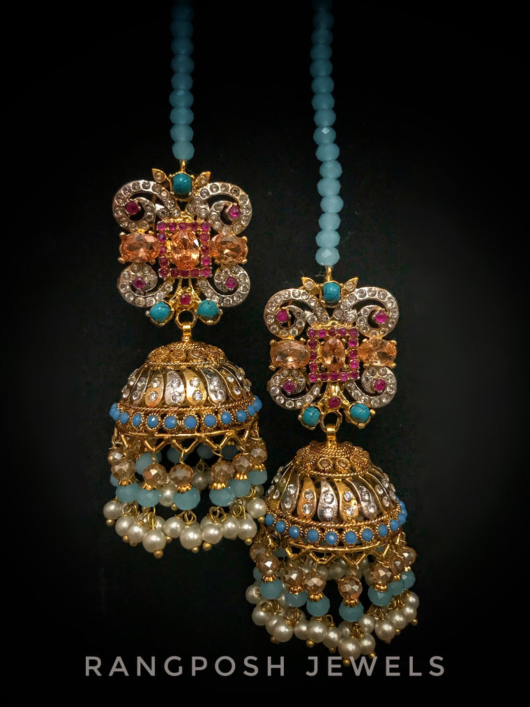 Nadia jhumkay earrings