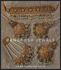 Aatish choker set