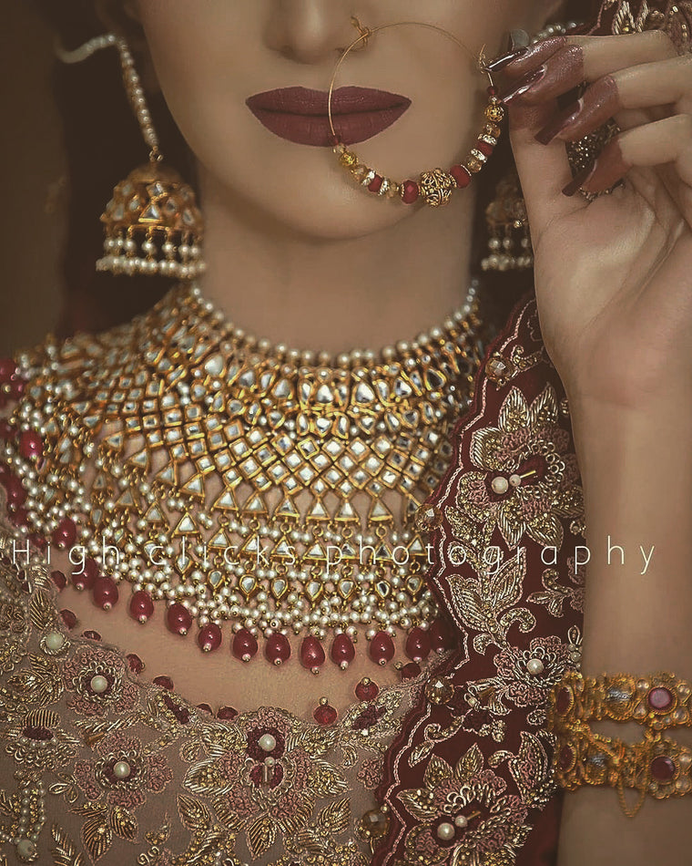 Deedar bridal set