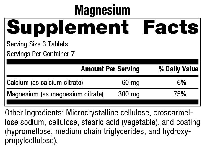 Pure Change Magnesium