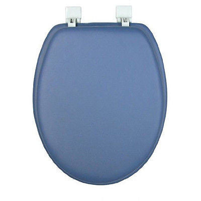 Soft Padded Vinyl Elongated Toilet Seat Brown S Linens