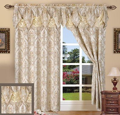 Curtains Ideas austrian valances curtains : Curtains, Draperies and Valances – Brown's Linens and Window Coverings