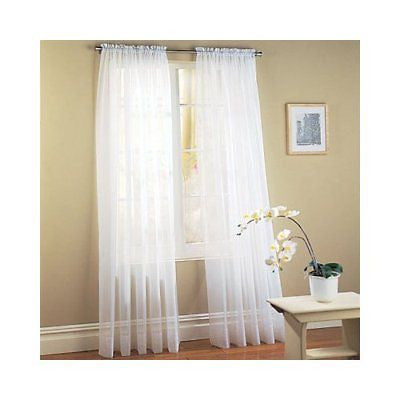 window swag long curtain grommet inches treatments curtains