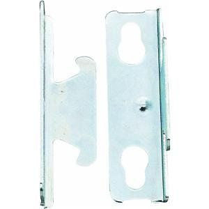 ONE PAIR OF SINGLE CURTAIN ROD BRACKETS - #6101
