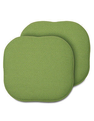 SET OF 2 MEMORY FOAM CHAIR PADS