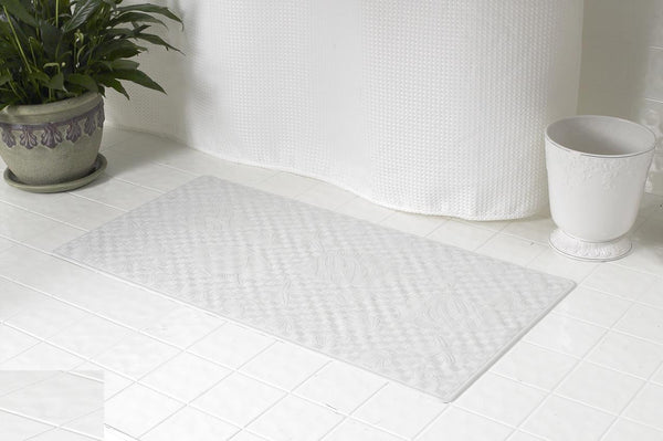 "NEW RUBBER BATHTUB MAT NON-SLIP SUPER SIZE 18""x36"""