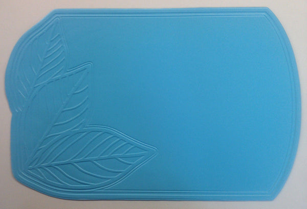 SET OF 6 NEW VINYL PLACEMATS, SOLID COLOR, EASY WIPE CLEAN