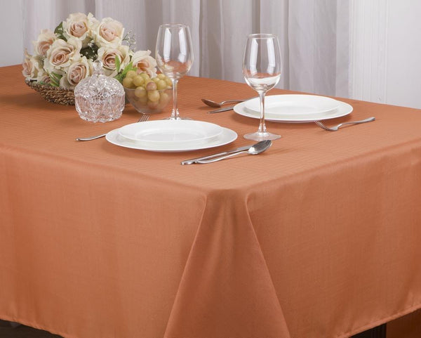 "MATILDA JACQUARD FABRIC TABLECLOTH, 60"" x 102"""