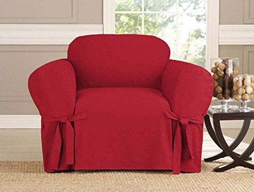 Micro-suede Slipcover, Furniture Covers, RUBY