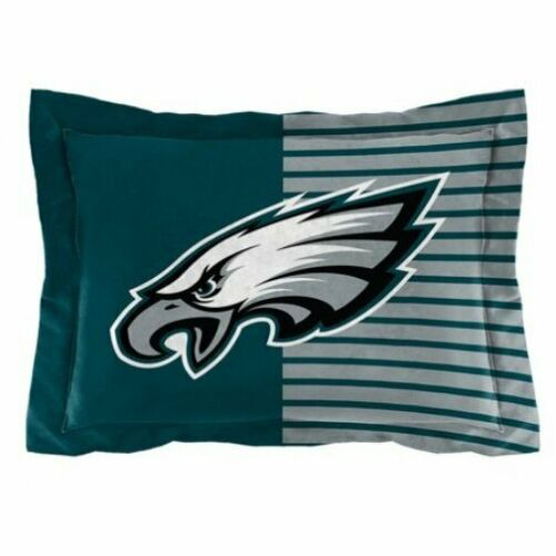 NFL Philadelphia Eagles Comforter and Pillow Sham Set