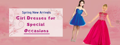 Spring New Arrivals: Girl Dresses for Special Occasions