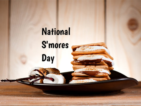 National S'mores Day -Mia Belle Girls Calendar August 2021