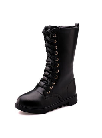 Mia Belle Lace Up Boots By Liv and Mia