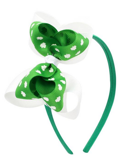 Girls St. Patrick's Day Themed Headband