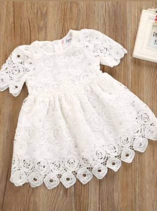 Baby Beautiful Lacey Dress