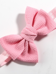 Baby Little Bow Headband dusty pink