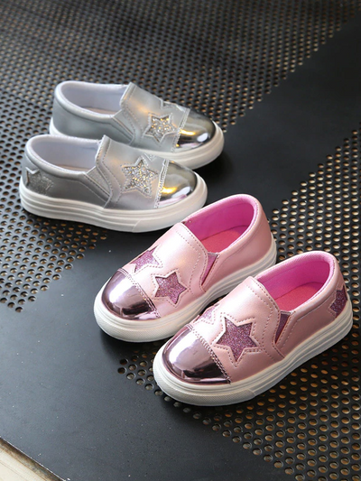 Girls Let's reach For the Stars Loafers By Liv and Mia