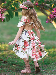 Girls Floral Breeze Dress