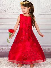 Girls Elena of Avalor Inspired Princess Halloween Costume Dress