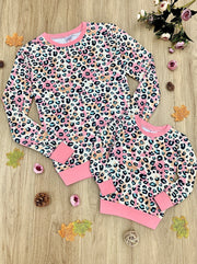 Mommy and Me Pastel Leopard Top - 2T-2XL