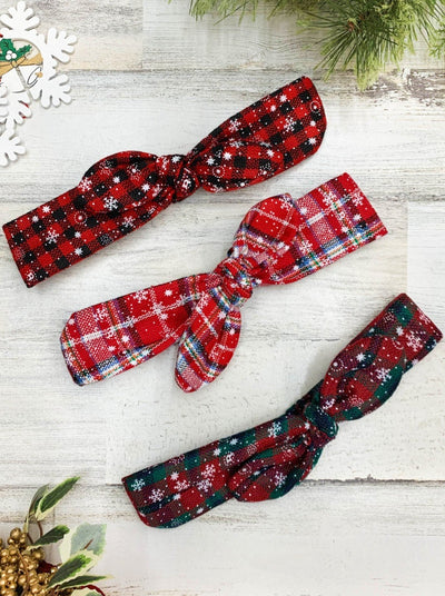 Christmas Themed Bowtie Headband- GWP