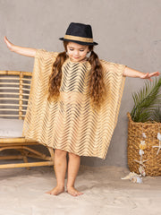 girls beige lace cover up 2T-3T to 10Y-12Y
