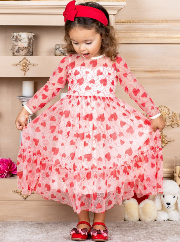 Girls Slipped into Love Dress