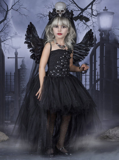 Girls Angel of Death Inspired Costume