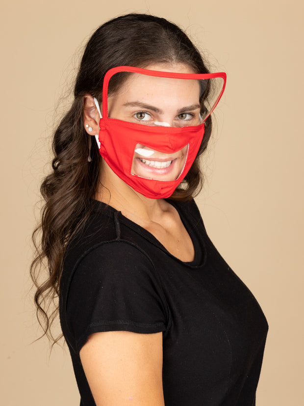 Adults Reusable Face Masks with Shield
