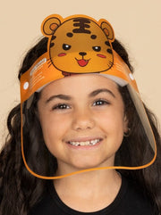 Kids Character and Animal Face Shields - Adjustable