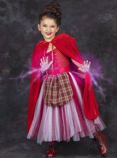 Girls Hocus Pocus Mary Sanderson Inspired Costume