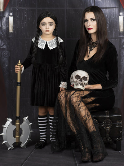 Mommy & Me Addams Family Inspired Costume