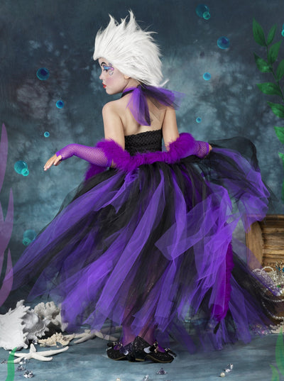 Girls The Little Mermaid Ursula Inspired Costume